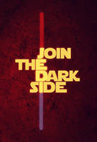 Join the Dark Side, Jedi by FabledCreative