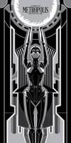 Metropolis - Silver Screen Edition by FabledCreative