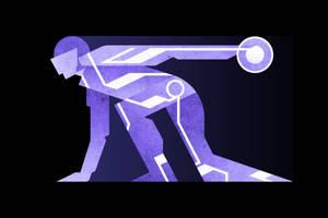 Disc Wars - Tron - Blue by FabledCreative