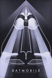 Batmobile - Batman the Television Series by FabledCreative