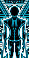 Daft Punk - Tron 1 by FabledCreative