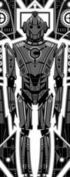 Dr Who - Cyberman by FabledCreative