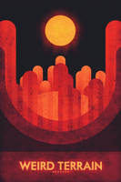 Mercury - Weird Terrain by FabledCreative