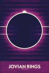 Jupiter - Jovian Rings by FabledCreative
