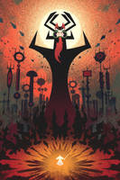 Samurai Jack and Aku by FabledCreative