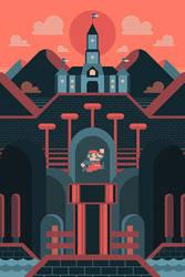Super Mario - Adventure Awaits by FabledCreative