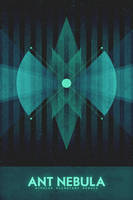 Bipolar Planetary Nebula - The Ant - Space Poster by FabledCreative