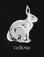 Follow the White Rabbit by FabledCreative