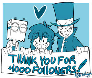 THANK YOU FOR +1K FOLLOWERS!! by risaXrisa