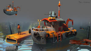 Apocalyptic Boat by GloriousRyan