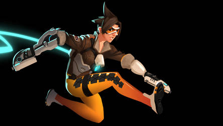 Tracer (daily no.5) by GloriousRyan