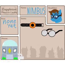 Dappleton - Nimbus Character Catalog by templar127