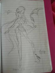 Sarah Bloomix Sketch  by Superhero06