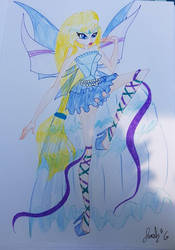 Harmonix on paper by Superhero06