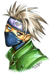 Kakashi is uber hot by luniara