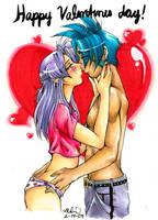 Be MY valentine by luniara