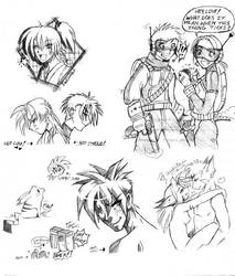 wow sketchies for brad by luniara