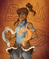 Legend of Korra by luniara