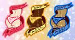 Dat Ass Sticker Set by luniara