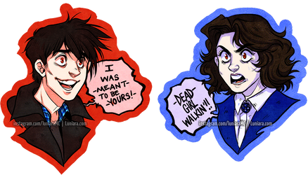 The Heathers - JD and Veronica by luniara
