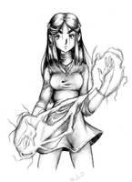 Maya is Sara by luniara