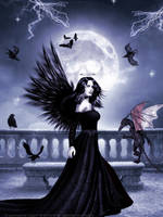 Angel Of The Darkness by Warrioress-Angel