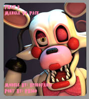 [SFM/FNaF] Mangle V4 Pack SFM Release by PixelKirby340