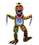 [FNaF/CollabEntry] Withered Chica Render by PixelKirby340