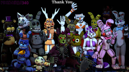 [SFM/OC] Thank You 2018 To Jan-2019 by PixelKirby340