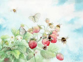 Strawberry Heaven by couchmochi
