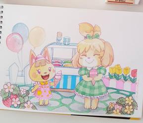 Ice cream! by couchmochi