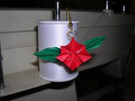 Origami Earring - Flower by mrinx
