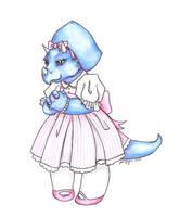 Lolita Triceratops by mrinx