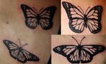 Monarch Butterfly Tattoos by mrinx