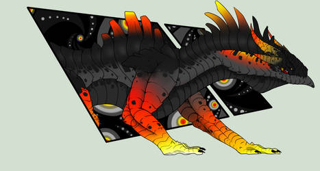 Baragon, Keeper of the Flame by Frogore