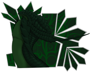Izarel, The great Green. by Frogore