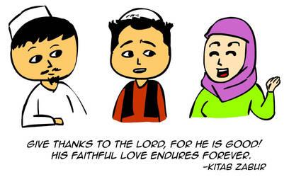 Thankfulness by kitabcomics