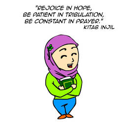 Rejoice in hope by kitabcomics
