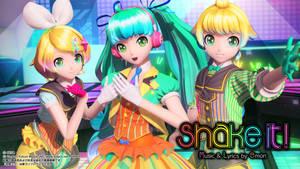 Shake It! Mirai Motion Retarget [DL] by Kristiqn545
