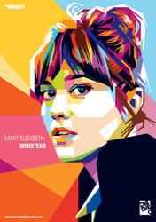 Mary Elizabeth Winstead by laksanardie