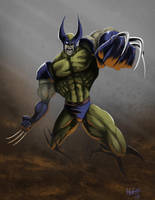 Wolverine by VisibleFire