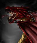 Dragon by bwusagi