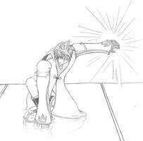 Keyblade Master - Adult Sora by LordKnightXiron