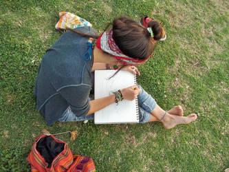 Artistic splendor in the grass 4 by Bibliofilo