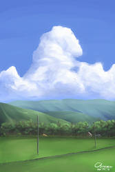 Background for test animation by Chrione