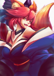Tamamo by Chrione
