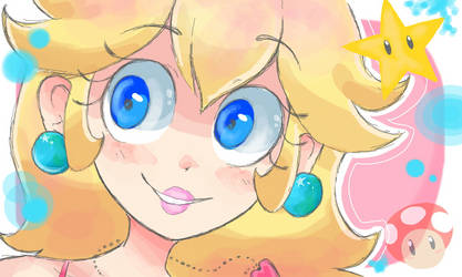 Peach by strawberrybebe