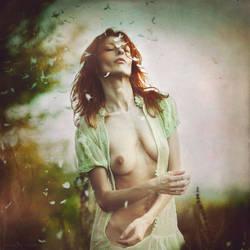 The Wind and Me...II by MiraNedyalkova
