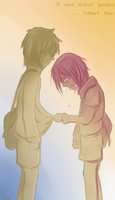 I was really scared ...about you by ChibiChibiSha