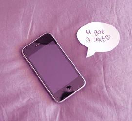 u got a text by DemonFlowers